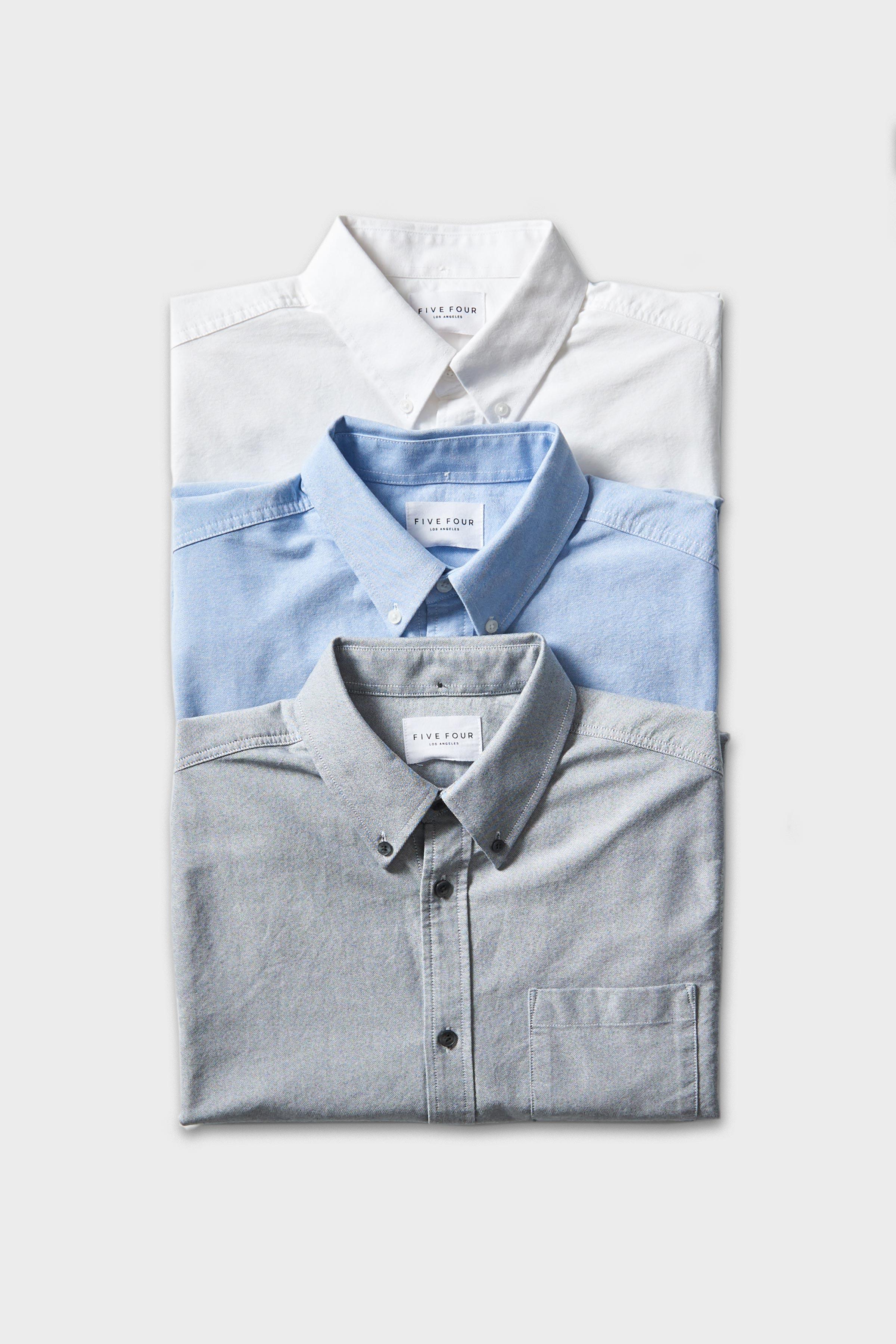 Store Menlo House Fbw Russel Button Down Shirt Navy Shirts