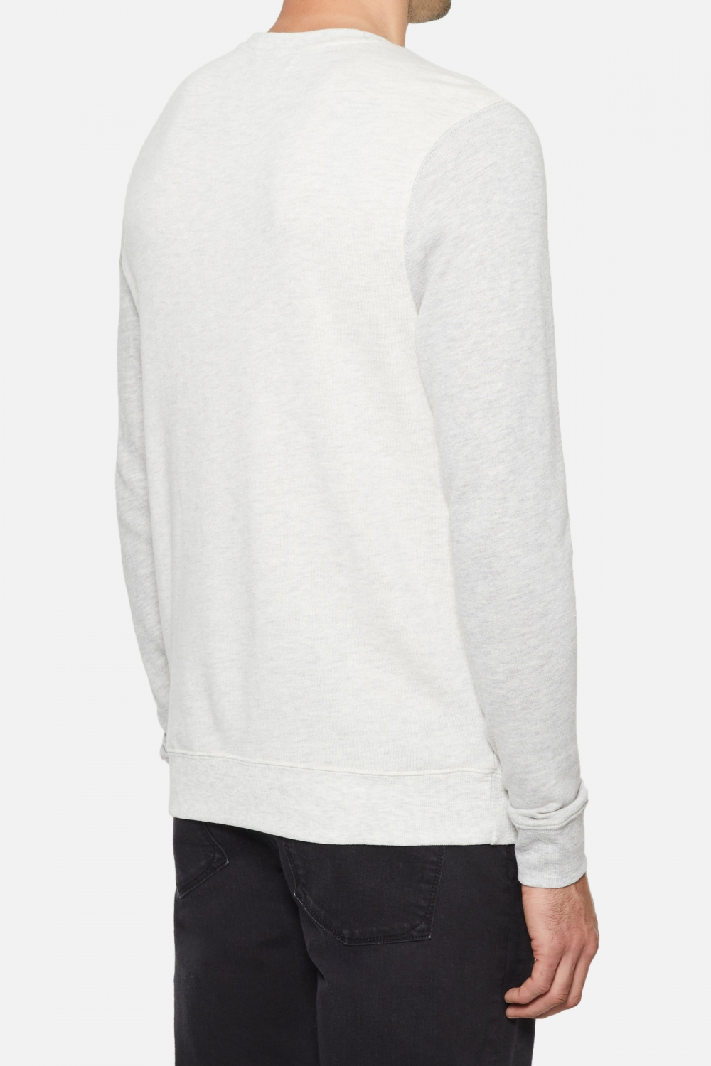 Arrow Pullover - Heather Off White | Five Four Club