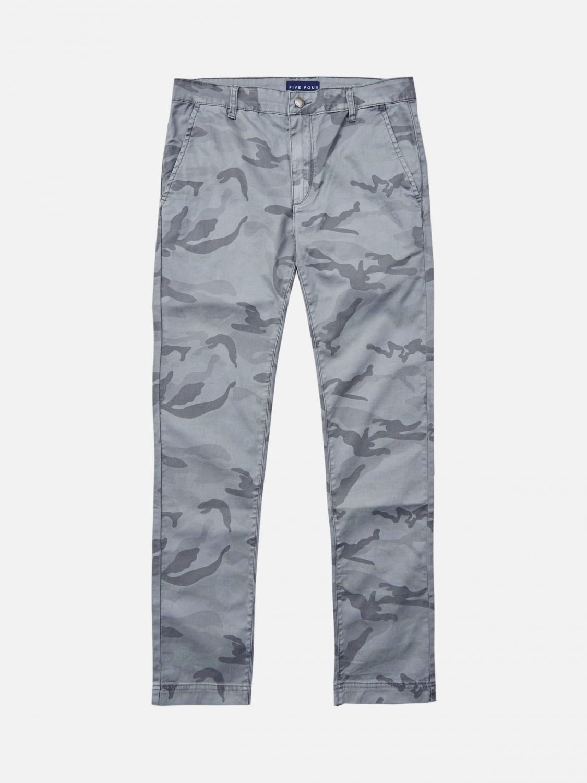 Backus Original Straight Pant - Gray. Five Four