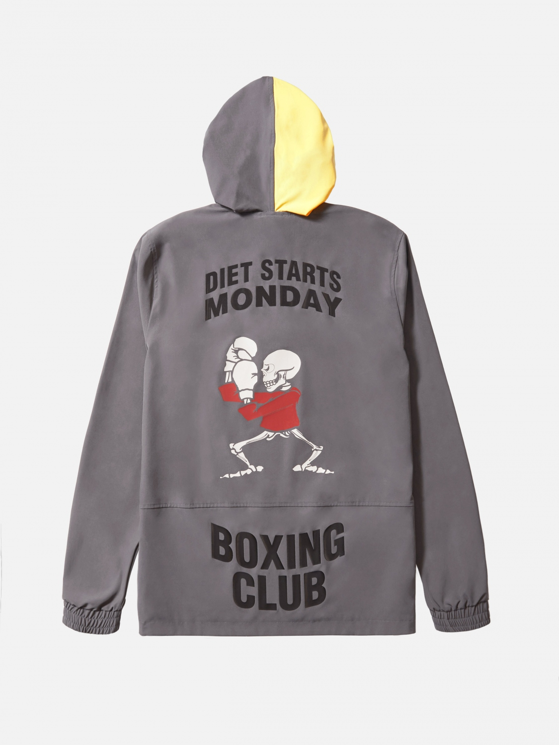 boxing club pullover - ash