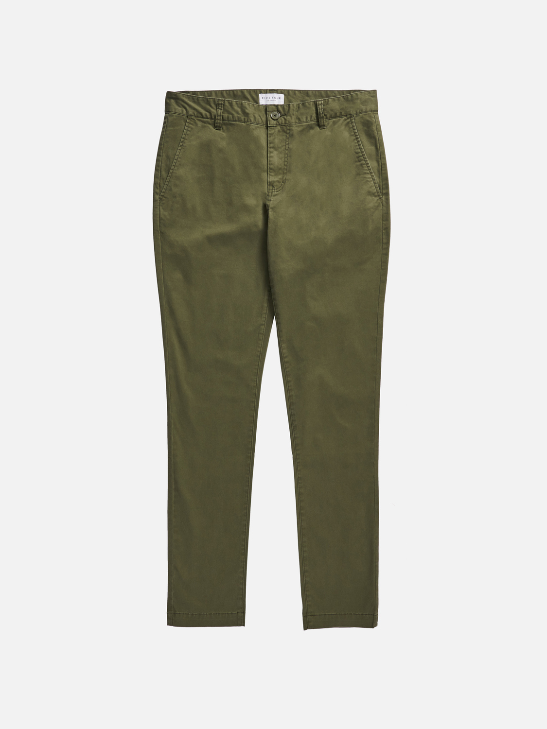 campus slim fit pant - olive