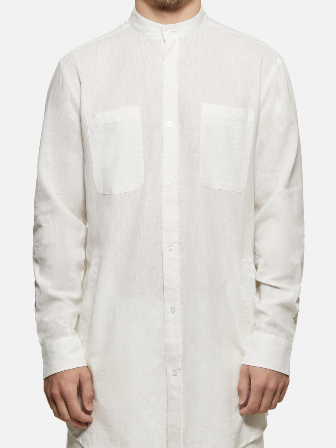 1b540409 Danilo Long Sleeve Shirt - Off White | Menlo House