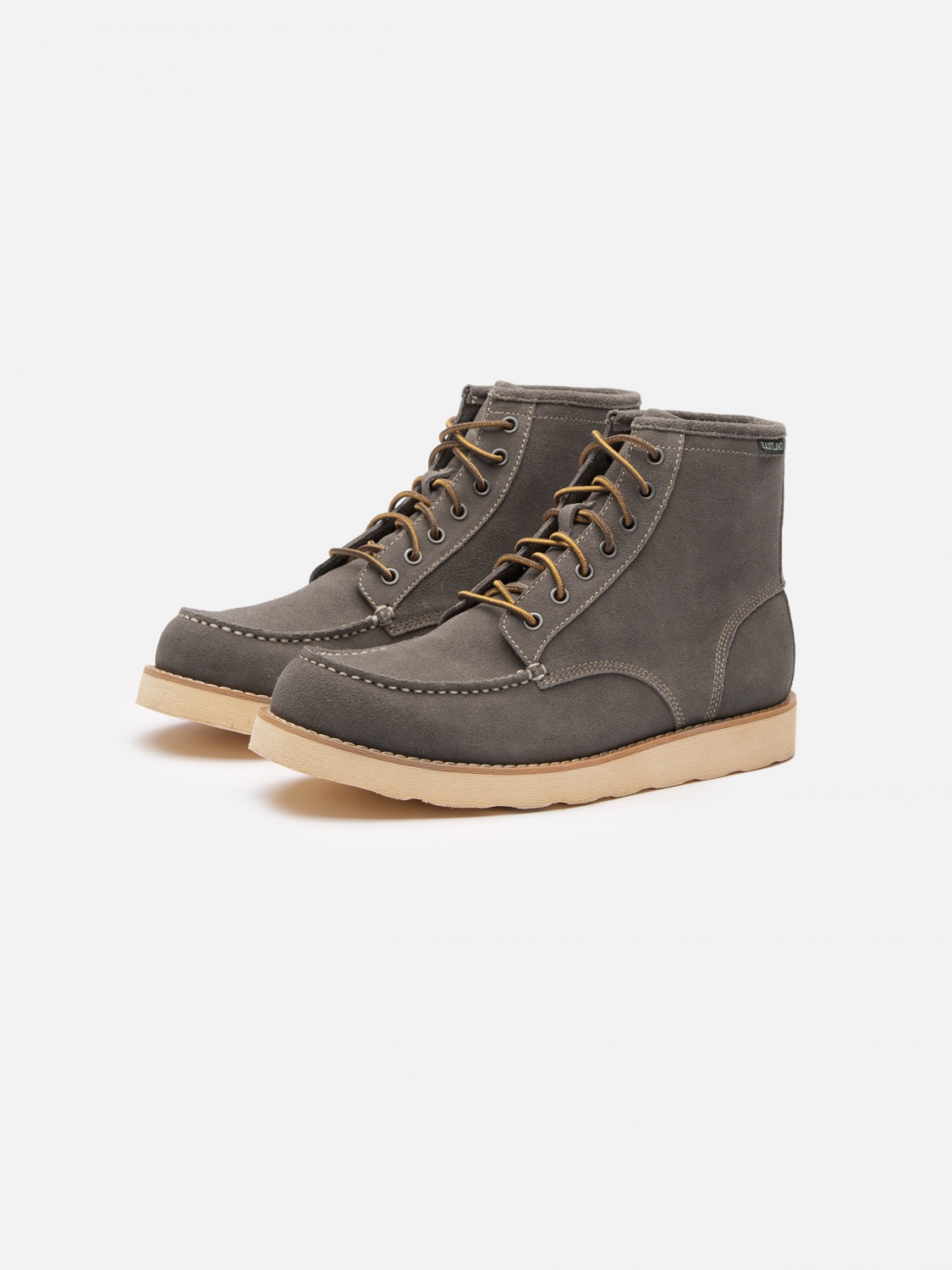 five four x eastland bret work boot - gray