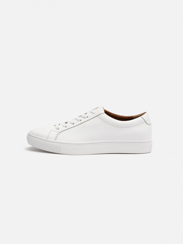 3f9a6c650f20 Kurt Leather Sneaker - White | Menlo House