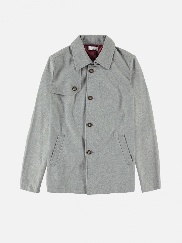 jeremy coat - heather gray
