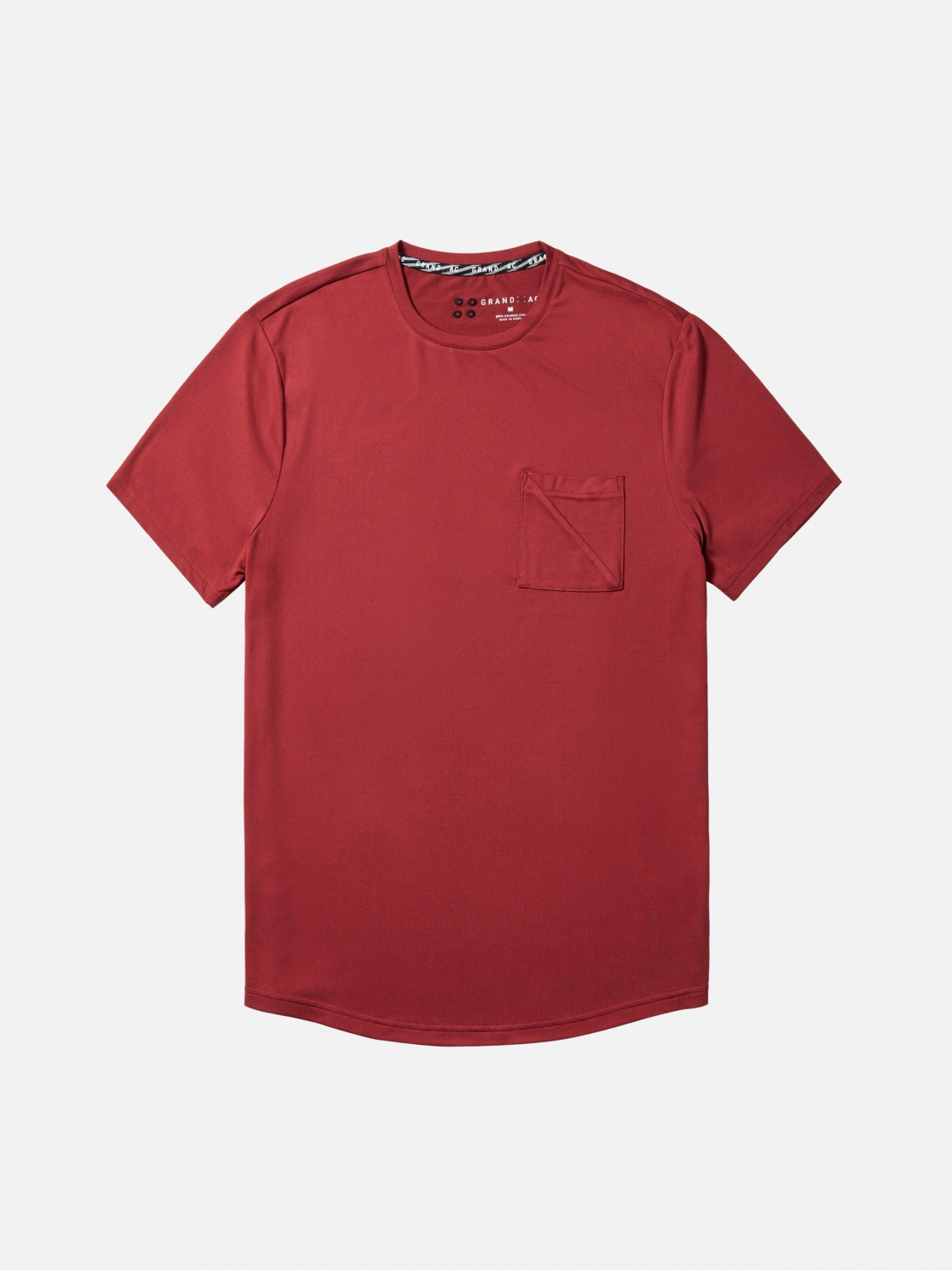 jonas short sleeve - red