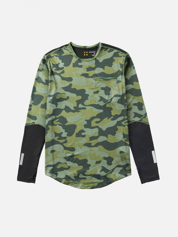 owens long sleeve - rifle green camo