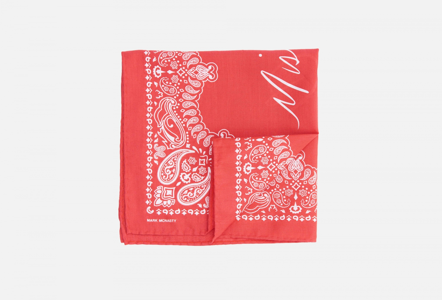mister dean quincy pocket square - red