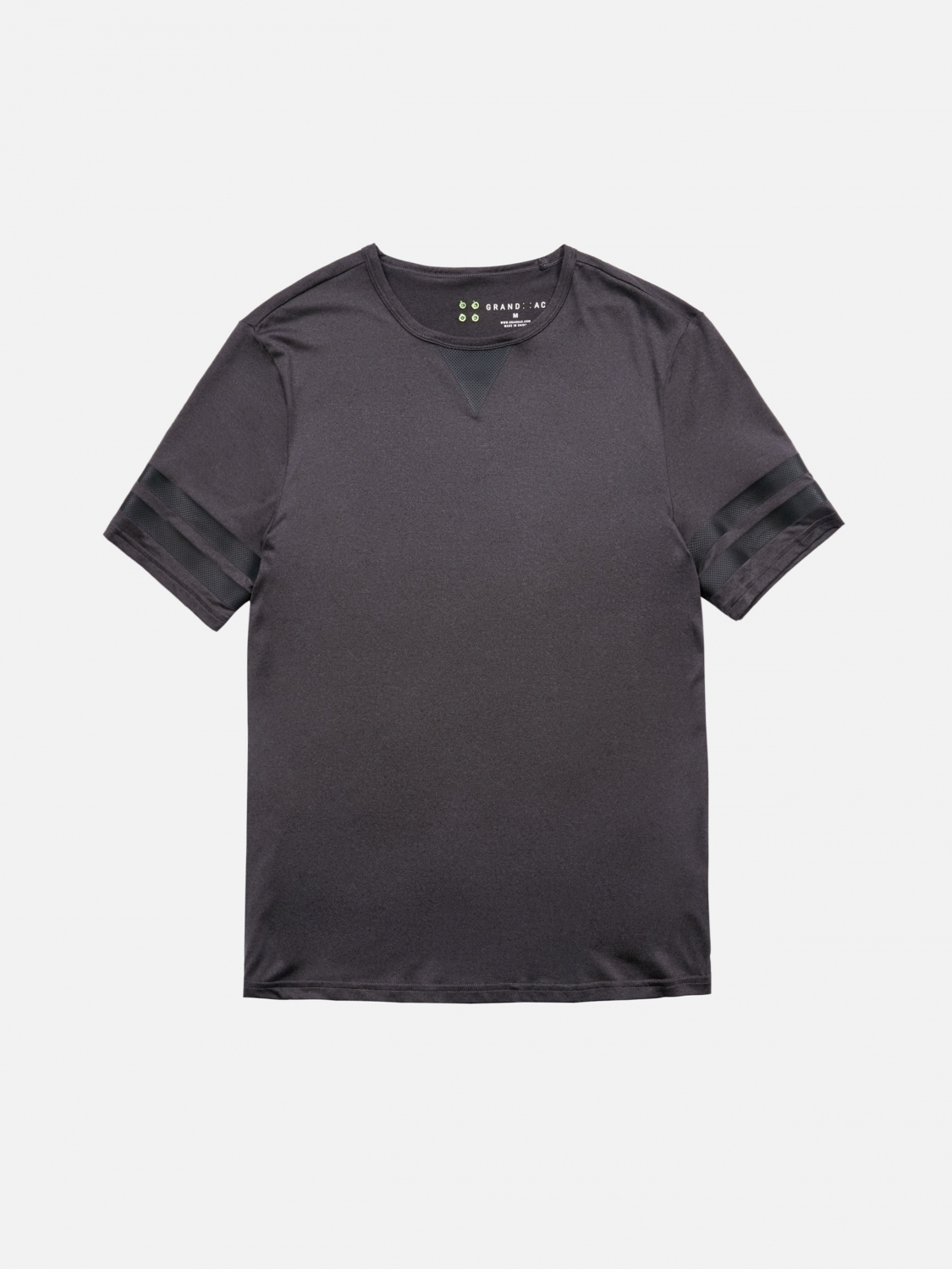 wallace short sleeve - charcoal