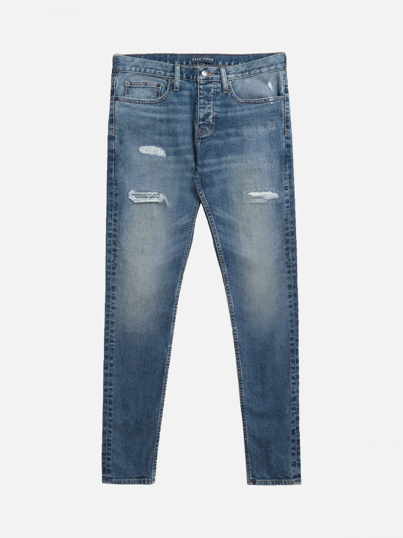 fvfr warner skinny fit jean - blue